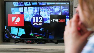Photo of Сотрудники закрытых СМИ проводят акцию протеста в Киеве