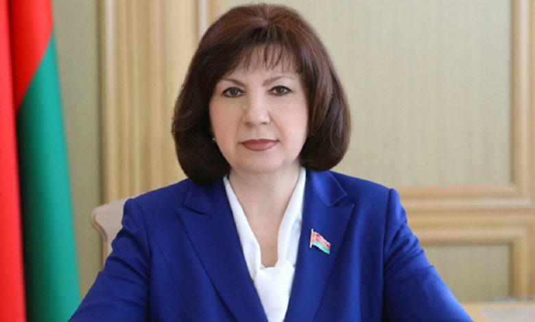 Состоялась встреча Натальи Кочановой с госсекретарем СГ Дмитрием Мезенцевым
