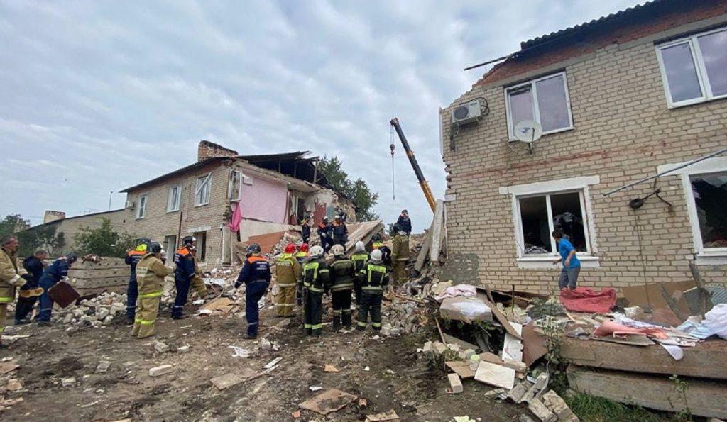 В Липецкой области в многоквартирном доме взорвался газ