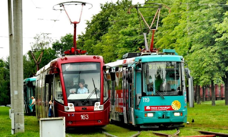 Столичные трамваи №№ 3, 6, 7 изменили маршрут из-за ремонта водопроводной сети