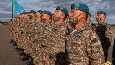 Photo of Военные из Казахстана прибыли в Беларусь на учения «Запад-2021»