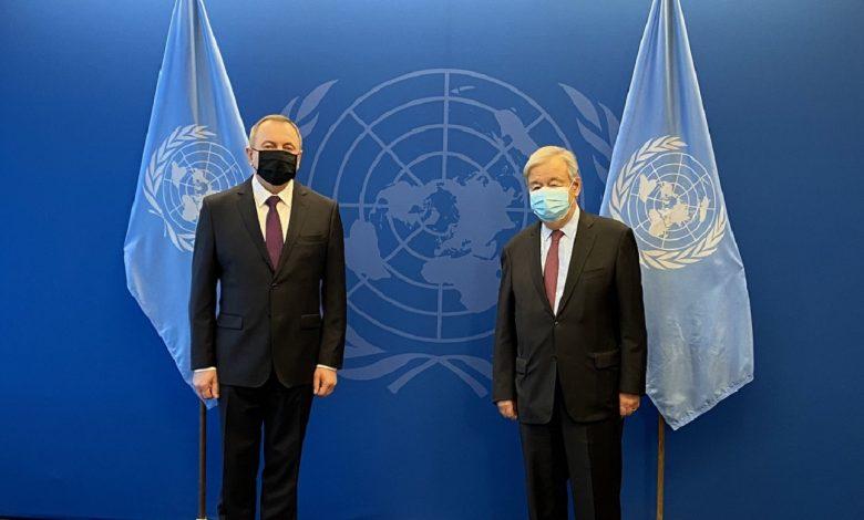 Макей рассказал генсеку ООН о ситуации в Беларуси