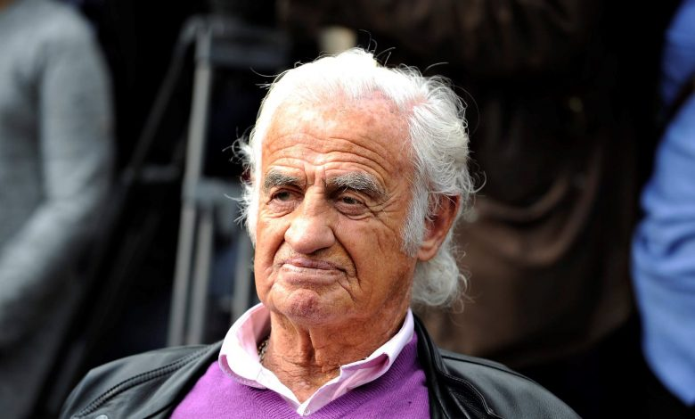 французский актёр Жан-Поль Бельмондо
