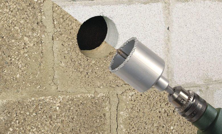 Коронка по бетону