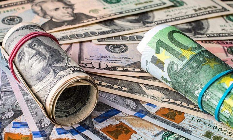доллары, евро, курсы валют