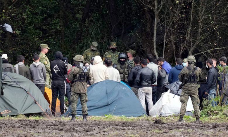 мигранты на границе, миграционный кризис