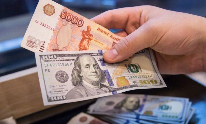 валюта, российские рубли, доллары