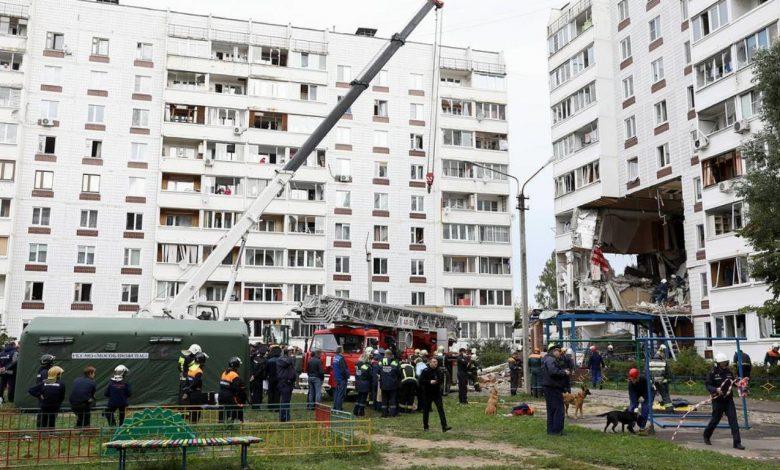 взрыв бытового газа произошёл 8 сентября 2021 года в жилом доме в Ногинске