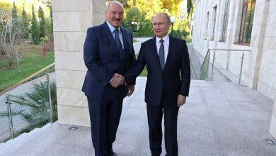 Photo of Лукашенко поздравил Путина с днем рождения