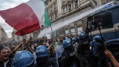 Photo of Во время протестов в Риме пострадали около 40 полицейских