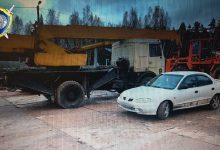 Photo of В Полоцком районе злоумышленники угнали лесовоз