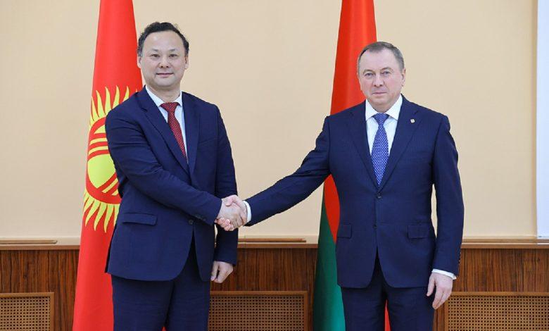 Беларусь и Кыргызстан наметили шаги по дальнейшему развитию сотрудничества