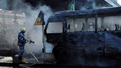 Photo of В Дамаске автобус подорвался на минах, более 10 погибших